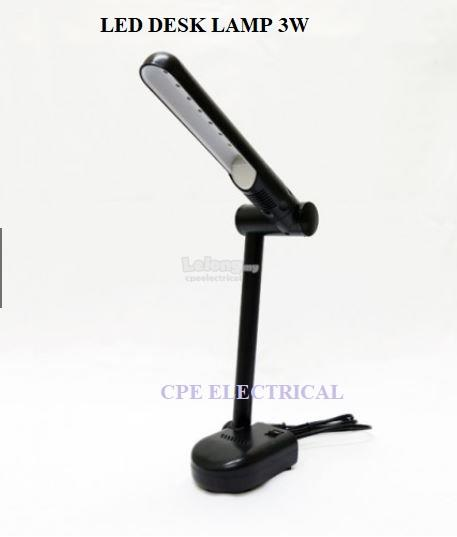 3W SMD 2835 LED DESK LAMP / TABLE LAMP DAYLIGHT 6500K