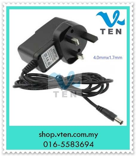 4.0x1.7mm DC5V 1A Power Adapter For Fingerprint Time Recorder  Supply