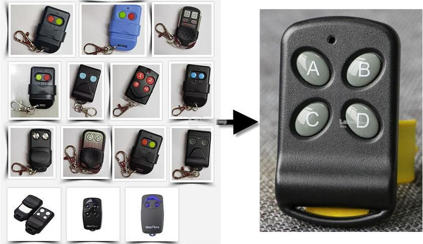 4 in 1 Auto Gate Remote Control  (Auto Mix duplicate 315/330/433Mhz)