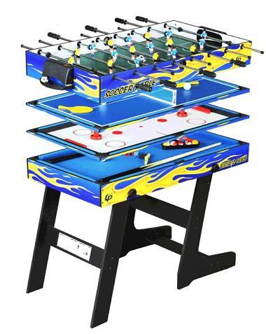 4 In 1 Multi Game Air Hockey Tennis Football Pool Table