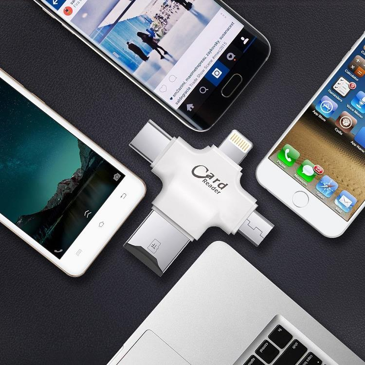 4-in-1 OTG Flash Drive for iPhone iP (end 1 20 2020 5 04 PM) 10ce777941