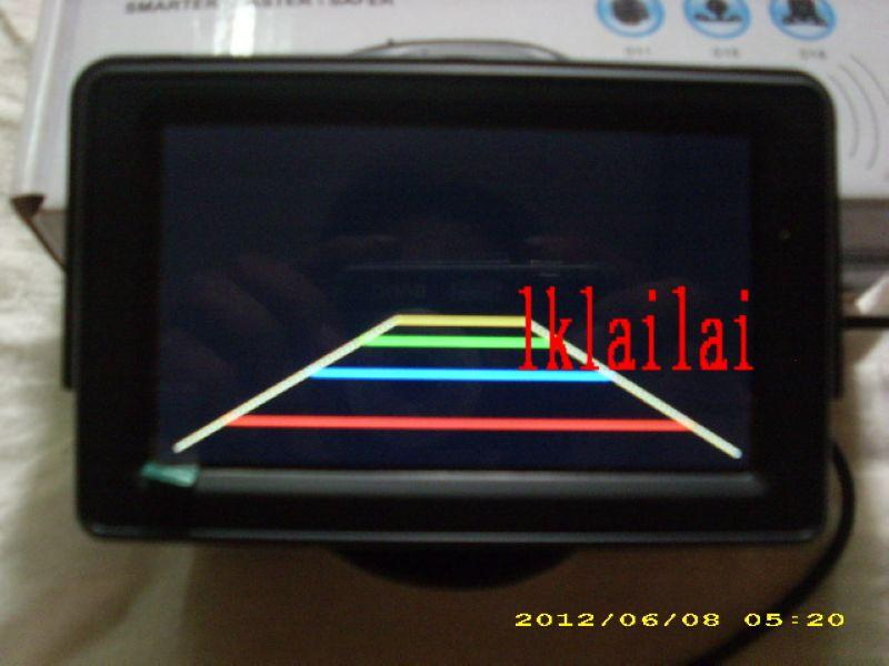 4.3inch TFT LCD MONITOR For Reverse Camera with Warning Line