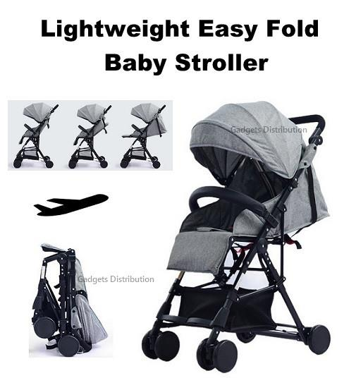 4.7kg Lightweight Compact Easy Foldable Baby Child Buggy Stroller