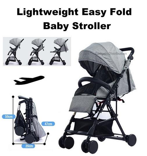 4.7kg Lightweight Compact Easy Foldable Baby Child Stroller 2427.1