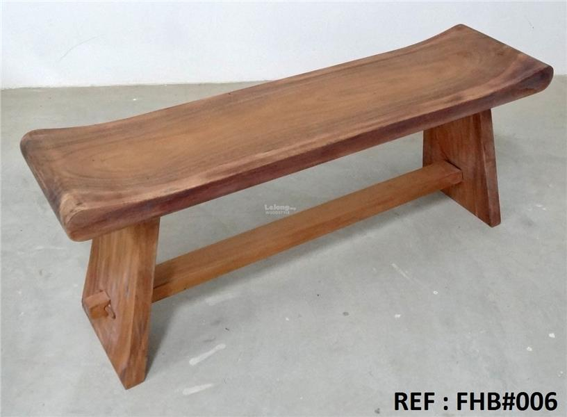 4 feet Solid wood seating bench. FHB#006