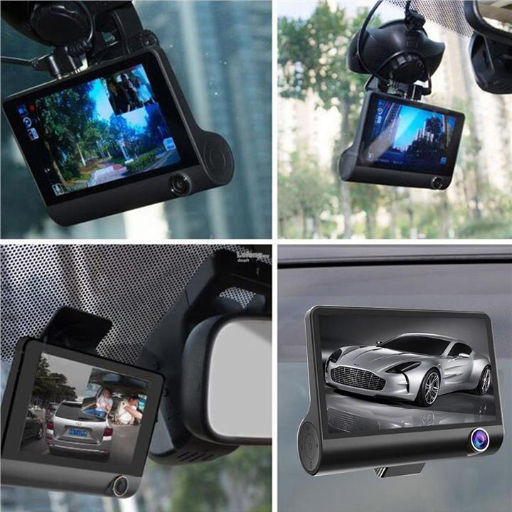 4'' Full HD 1080P Car DVR Dash Cam Vehicle Video Recorder Motion