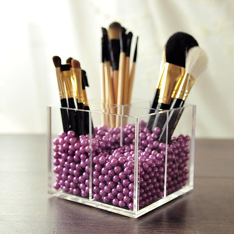 4 grids acrylic makeup brushes hold end 5 25 2019 11 15 pm. Black Bedroom Furniture Sets. Home Design Ideas