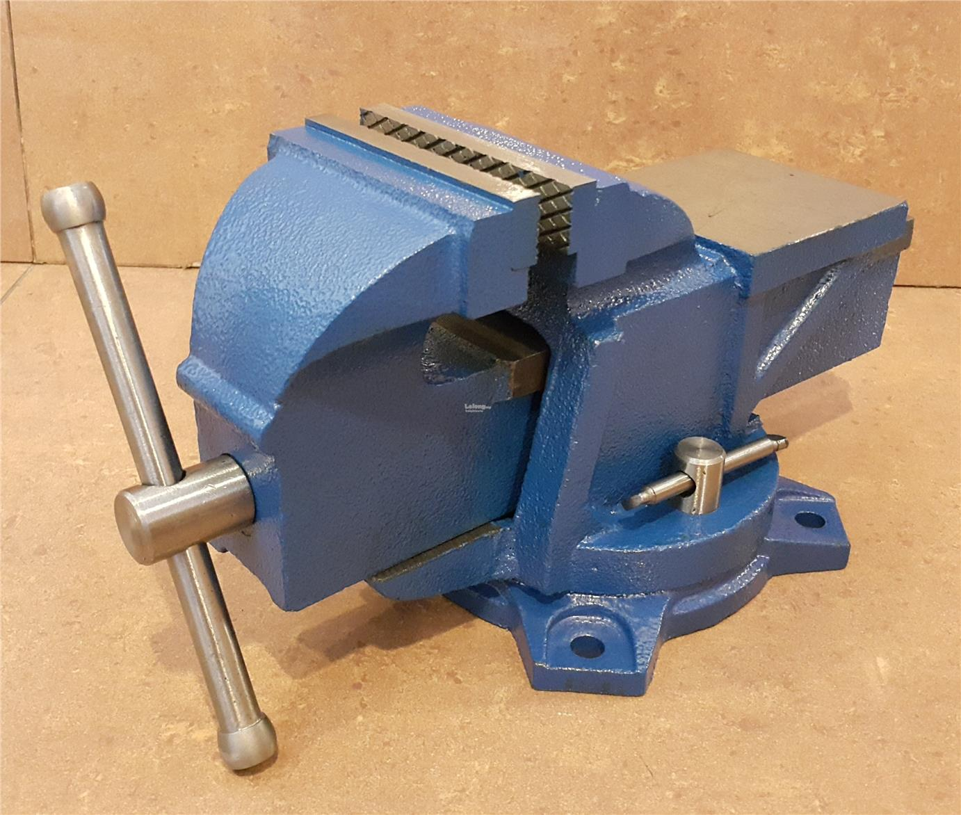 4\'Heavy Duty Swivel Bench Vise With (end 11/11/2018 9:15 PM)