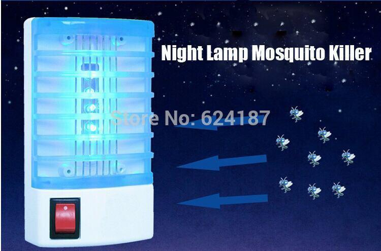 4-LED Electron UV Mosquito Killer Night Lamp for Every Home and Office