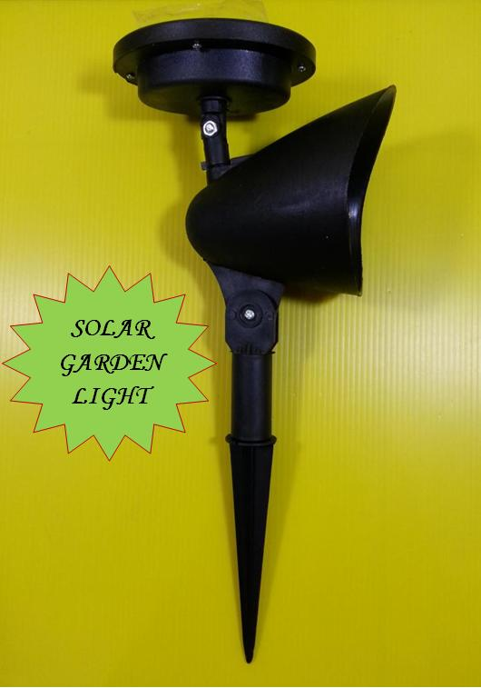 4 LED Solar Garden Light. Save Electric.Enviromental Friendly