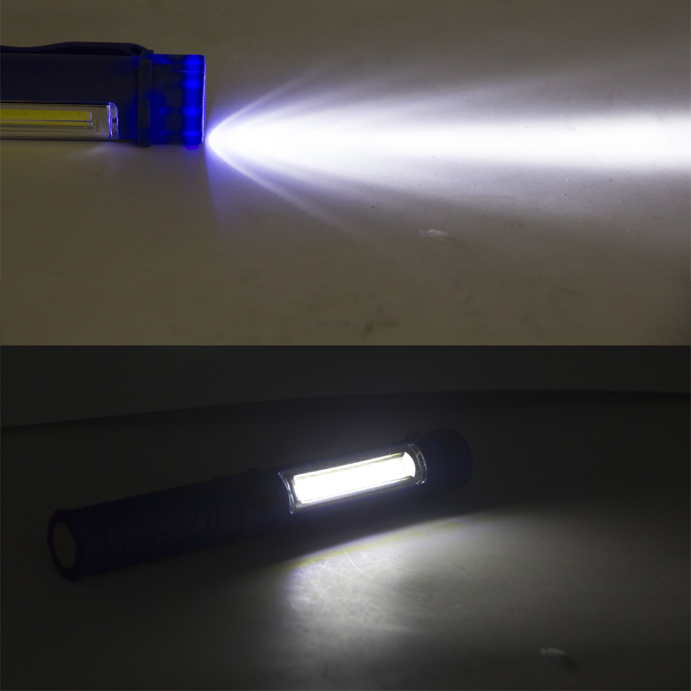 4 Pcs Multi Colour Mini Led Cob Pe End 12 2020 1200 Am Pen Clip Light Magnetic Torch Flashlig