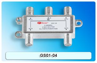 4 Way Satellite Splitter GS01-04
