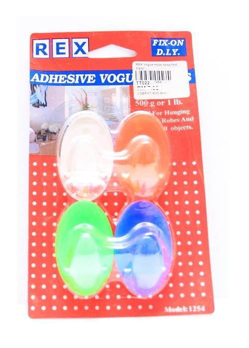 4 Vogue Assorted Color Hook (Holds up to 500g)