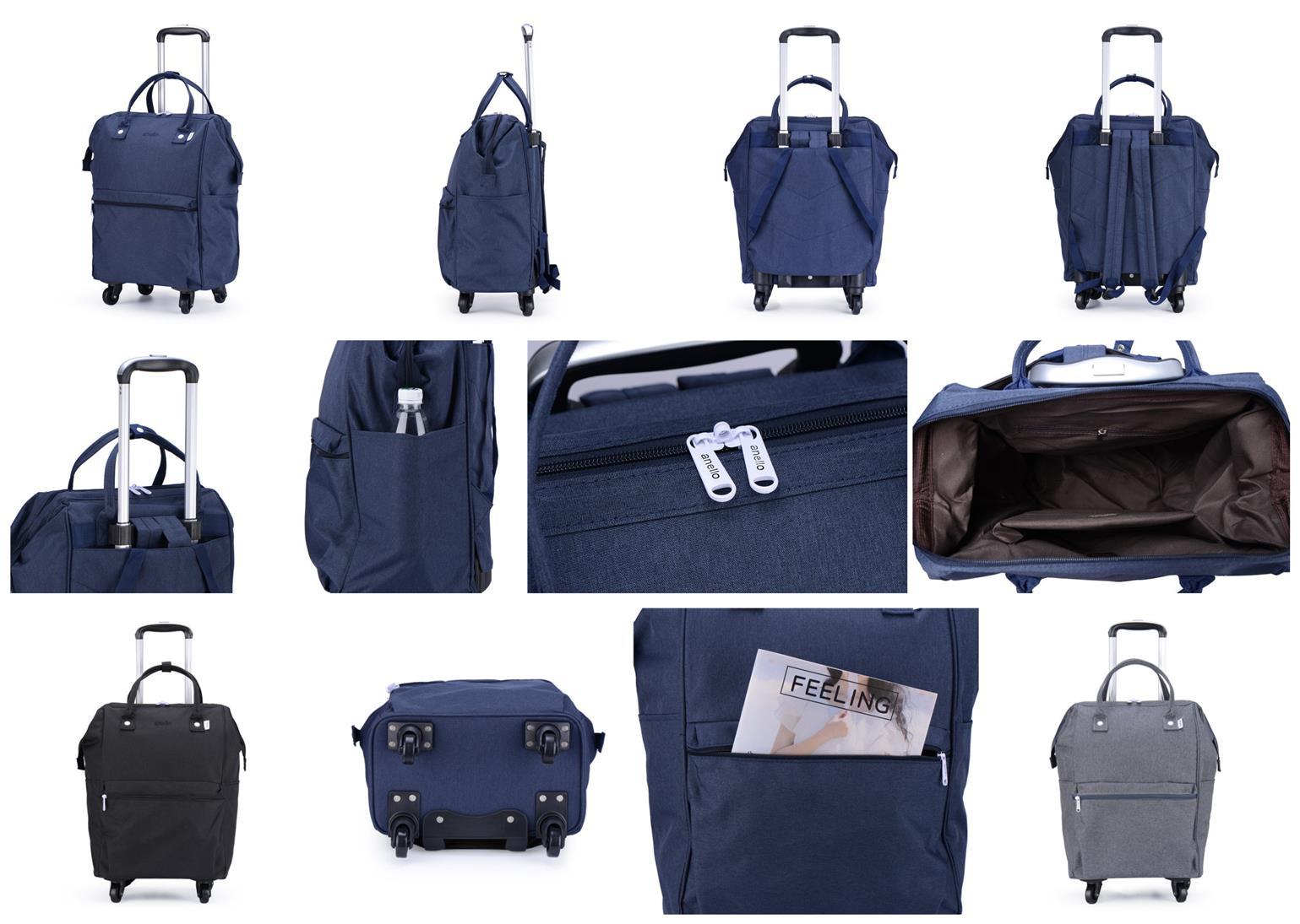 4 Wheels Luggage Travel Cabin Size (end 11 22 2019 8 39 PM) b73e7a1e3234c