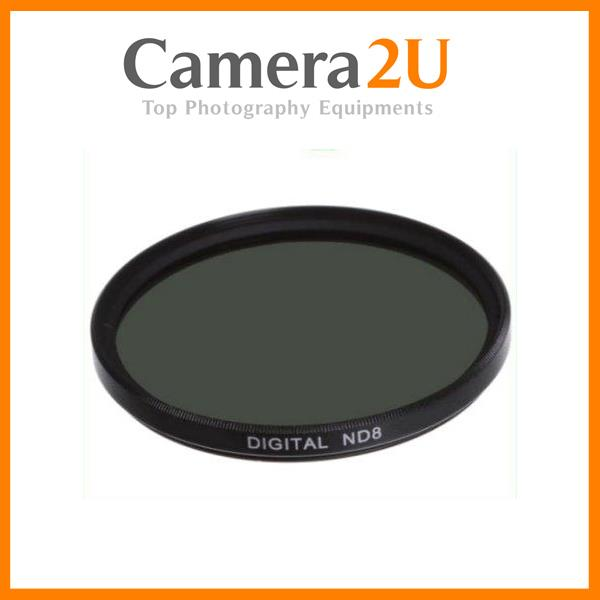 New 40.5mm ND8 Neutral Density Lens Filter / 3 f-stop