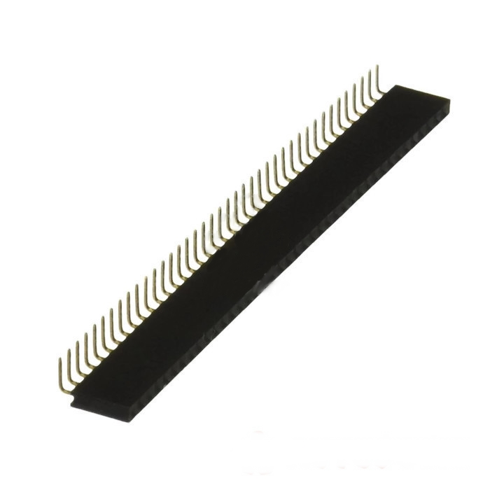 40-Pin Right Angle Female Header