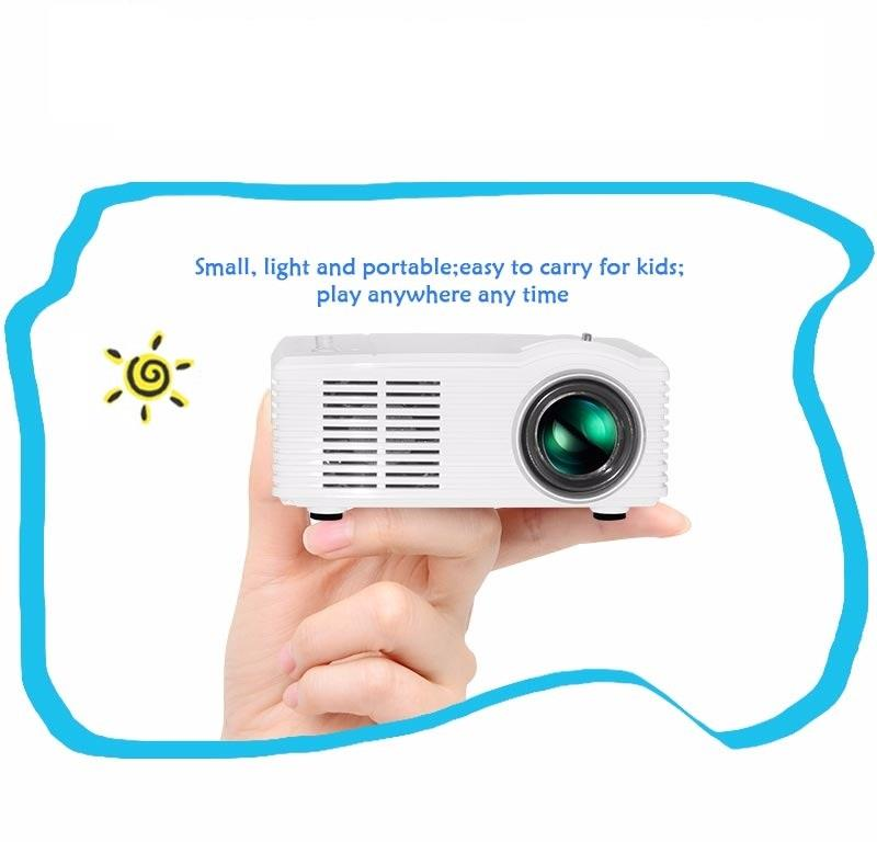 400 LUMENS OWLENZ SD30 MICRO LED PROJECTOR