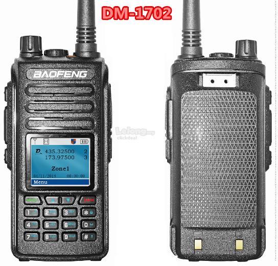 4000 Channels Baofeng DM-1702 GPS 5W tier II DMR radio