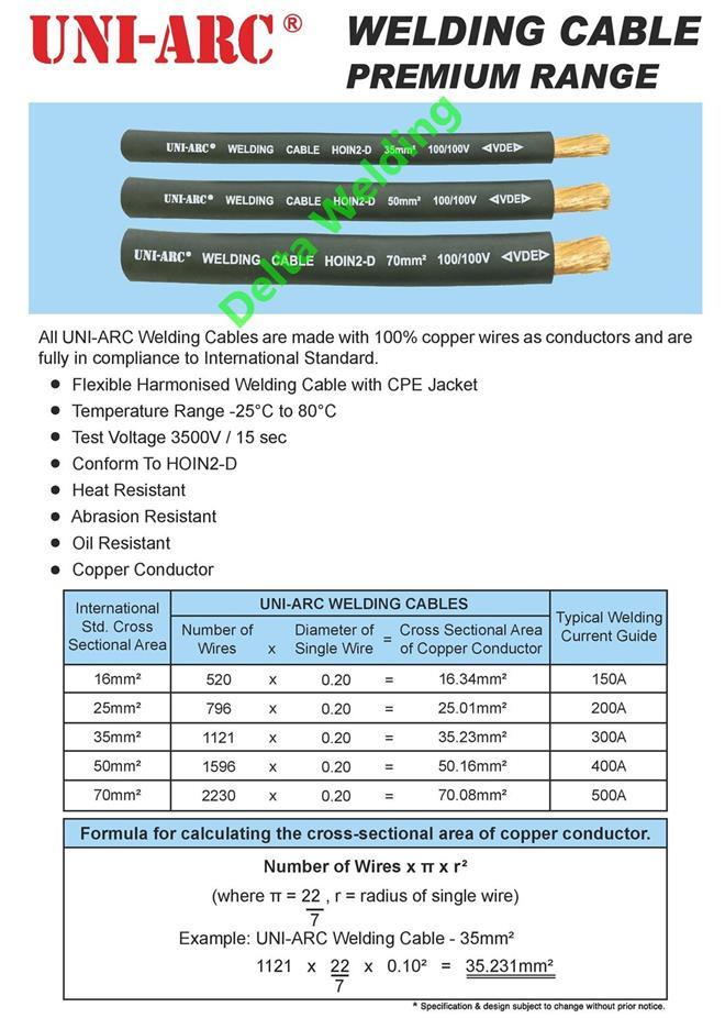 400Amps Welding BLACK Pure Copper Ca (end 11/1/2018 6:15 PM)