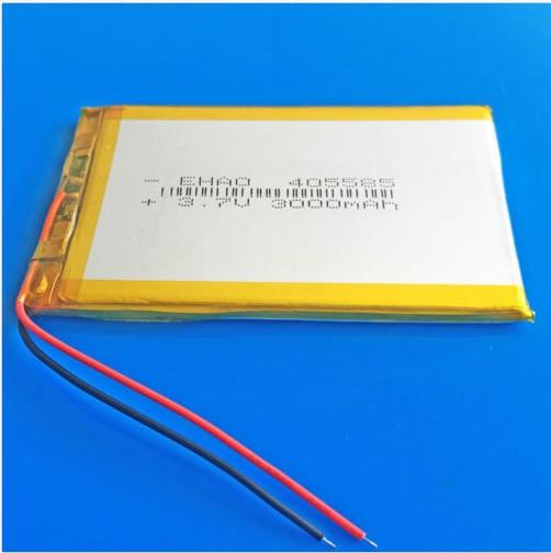 405585 3.7V LiPo Battery 3000mAh for Tablet PC