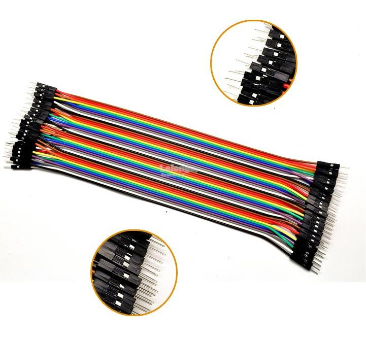 40cm male to male jumpers cable x 40 pieces