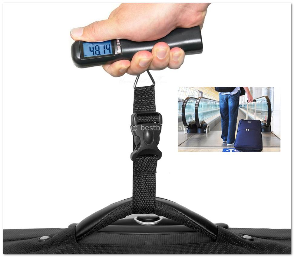 40Kg Mini Digital Luggage Scale Tra (end 12/24/2015 8:15 PM)