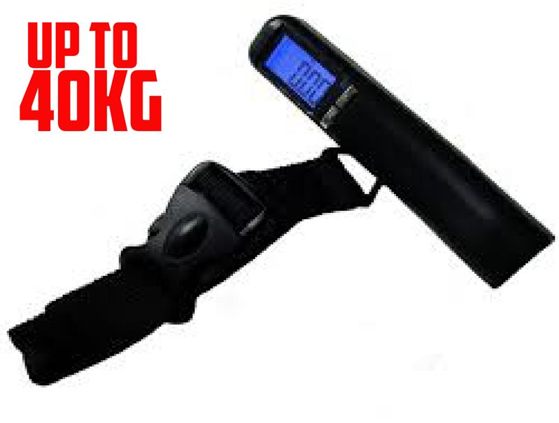 [ 40KG ] Portable Travel Digital Luggage Weighing Scale with LED LCD