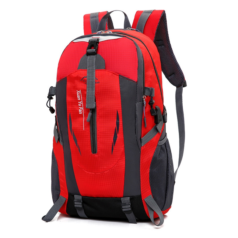 f6d62ea86806 40L Outdoor Sport USB Backpack Bag Waterproof Laptop Hiking Camping Travel  Sch