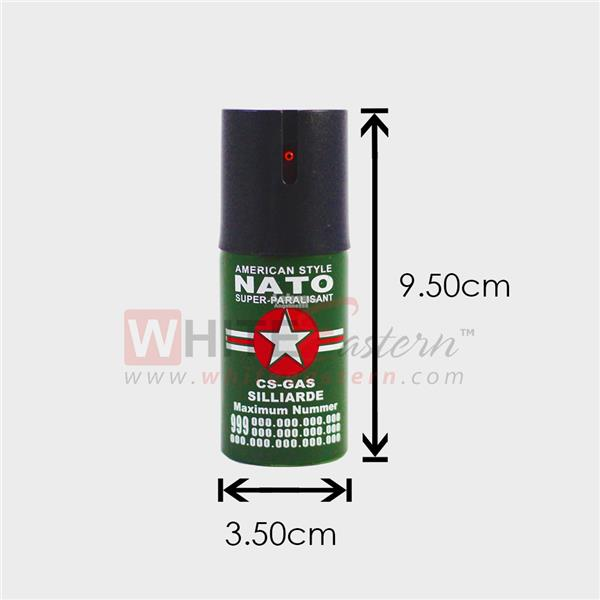 40ML Keychain Self Defense Protective Pepper Spray Safety 防狼
