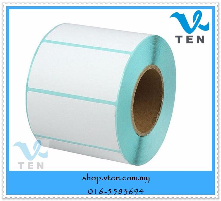 40x40mm Thermal Barcode Label Sticker For Barcode Printer