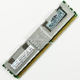416472-001 2GB, 667MHz, PC2-5300F-5, DDR2, dual-rank x4, 1.80V, regis