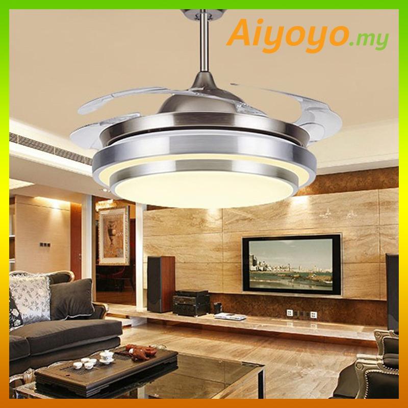 42 Inch Ceiling Fan LED Light Hidde (end 7/24/2020 11:25 PM