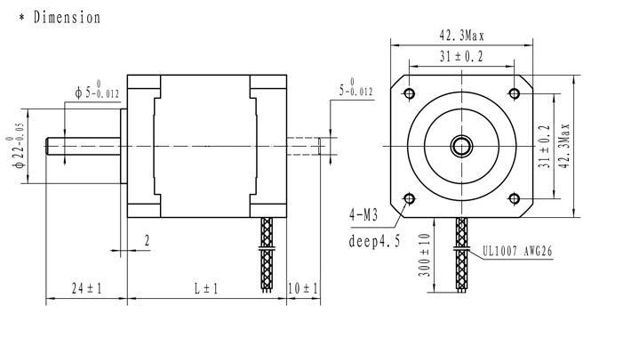 42x47 stepper motor nema 17 for 3d p  end 12  9  2017 2 15 pm