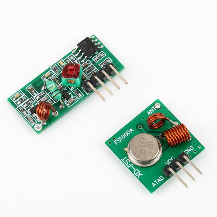 433MHz RF Transmitter and Receiver Link Kit for Arduino