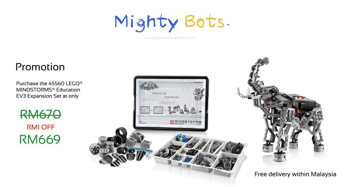 45560 LEGO MINDSTORMS Education EV3 (end 10/1/2016 12:15 PM)