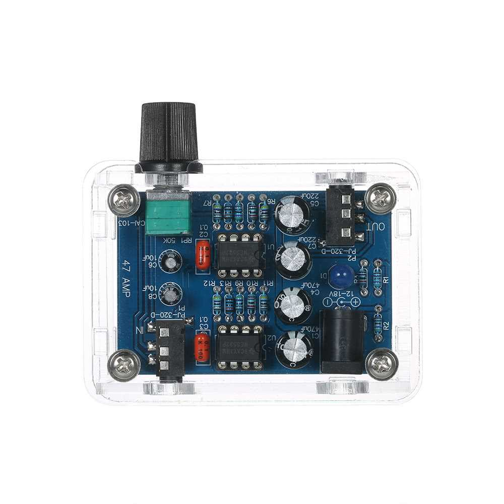 47 Amp DIY NE5532 Hi-Fi Headphone A (end 12/4/2021 12:00 AM)