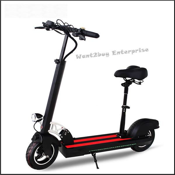 48v 15 6ah 60km 10inch Folding Foldable Electric Scooter Bike