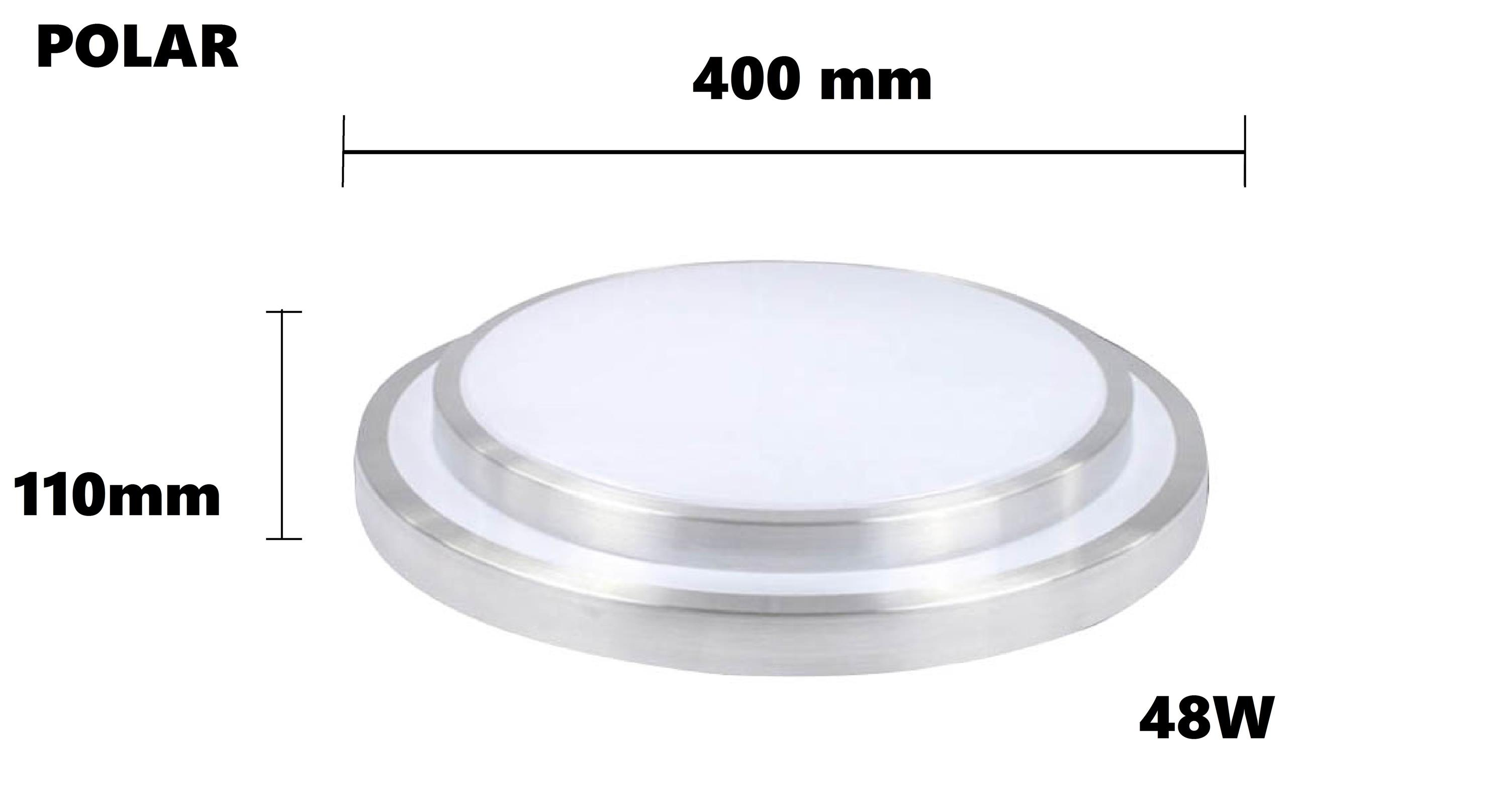 48W POLAR LED CEILING LIGHT (2 LAYER) Daylight