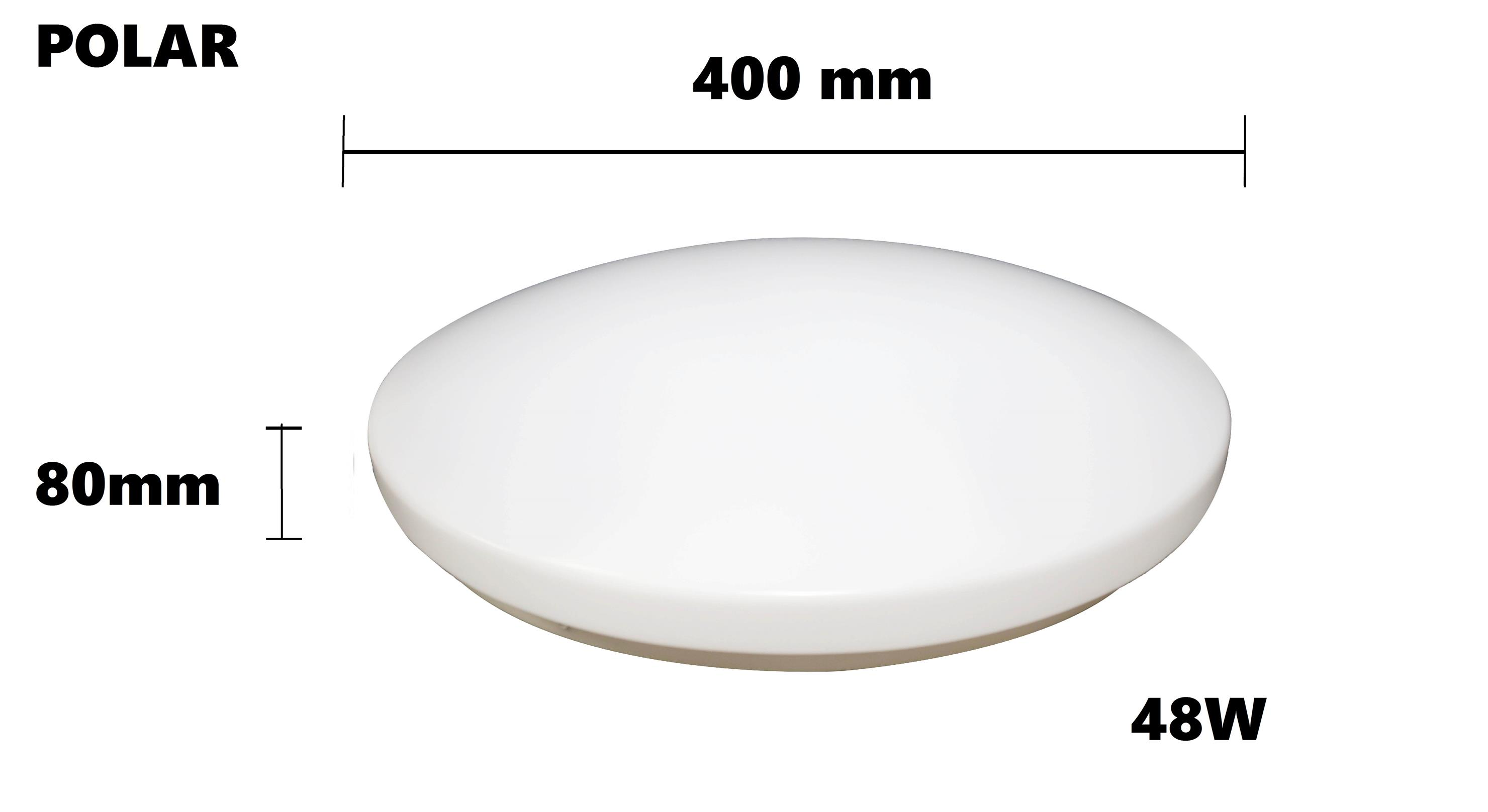 48W POLAR LED Ceiling Light (Plain) Daylight