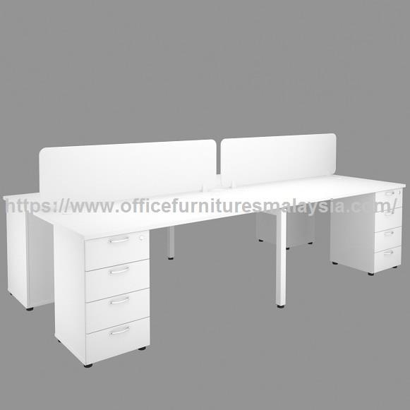 4ft for 4 seater Office Partition Workstation Table OFTFT022 Bangi KL