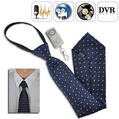 4GB Necktie Camera with Remote Controller (WNC-01).