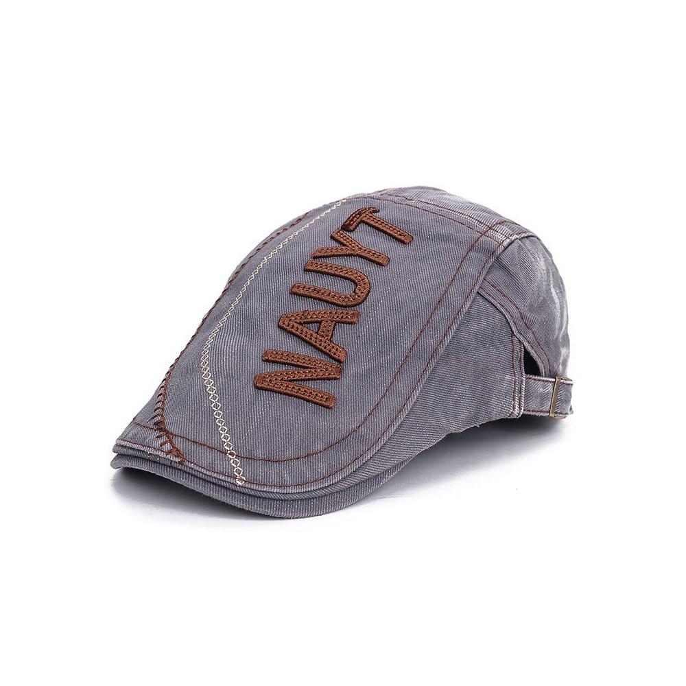 af35488e3ee21 4GL NAUYT Vintage French Beret hat For Men Women Berets Casual Peaked