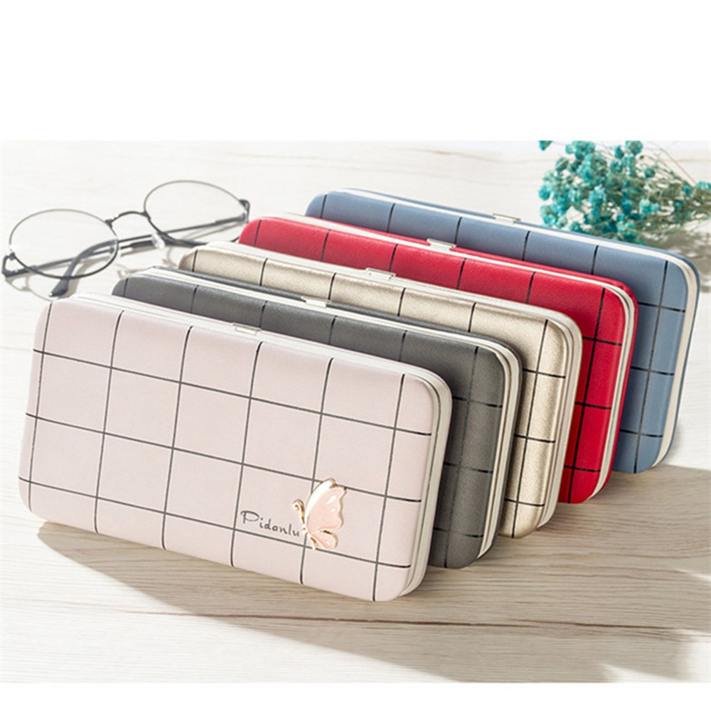 4GL Pidanlu N2313 Women Long Wallet Purse Bag Butterfly Candy Colour