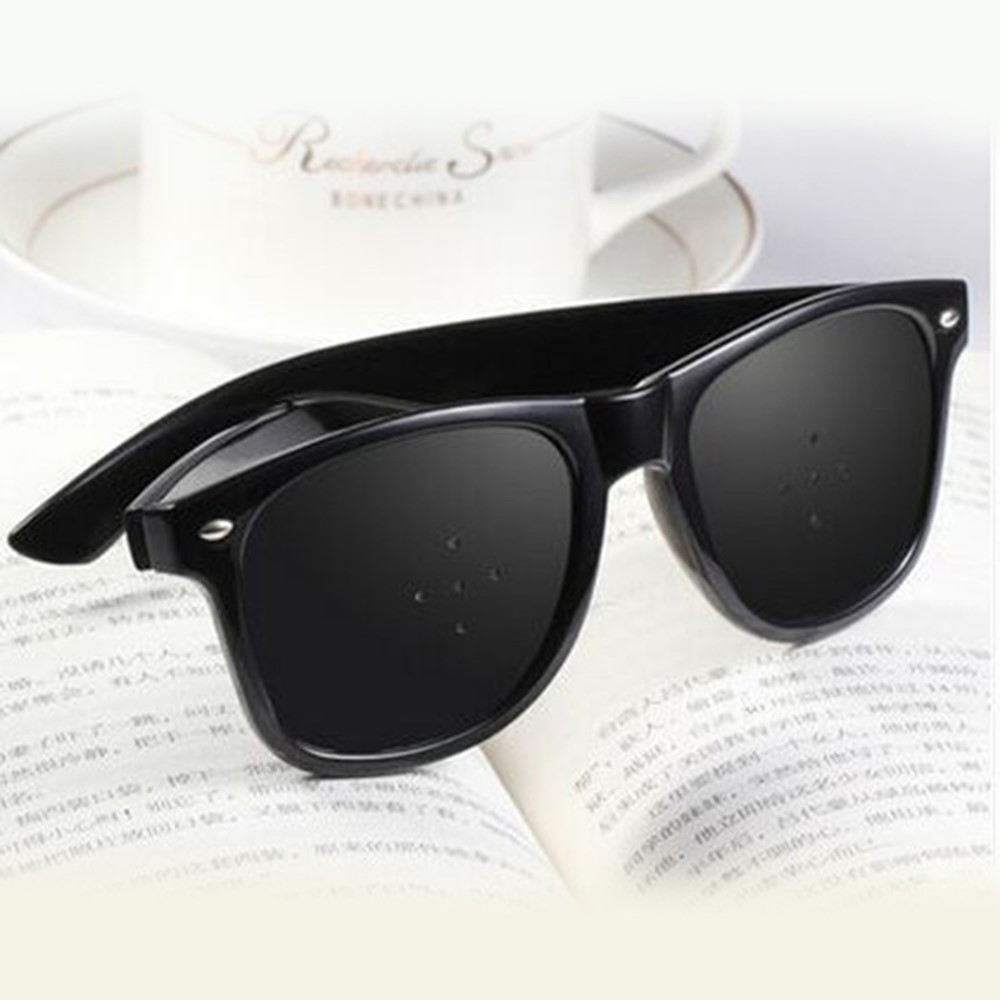 4GL Pinhole Glasses Anti Fatigue Eyesight Care Vision Improve Glasses