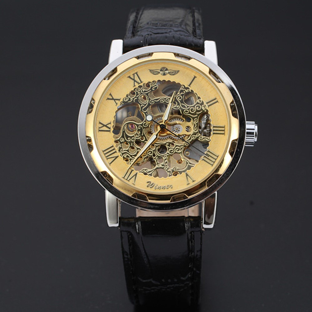 4GL Winner 2020 Men Watch Automatic Mechanical Movement Watch Jam
