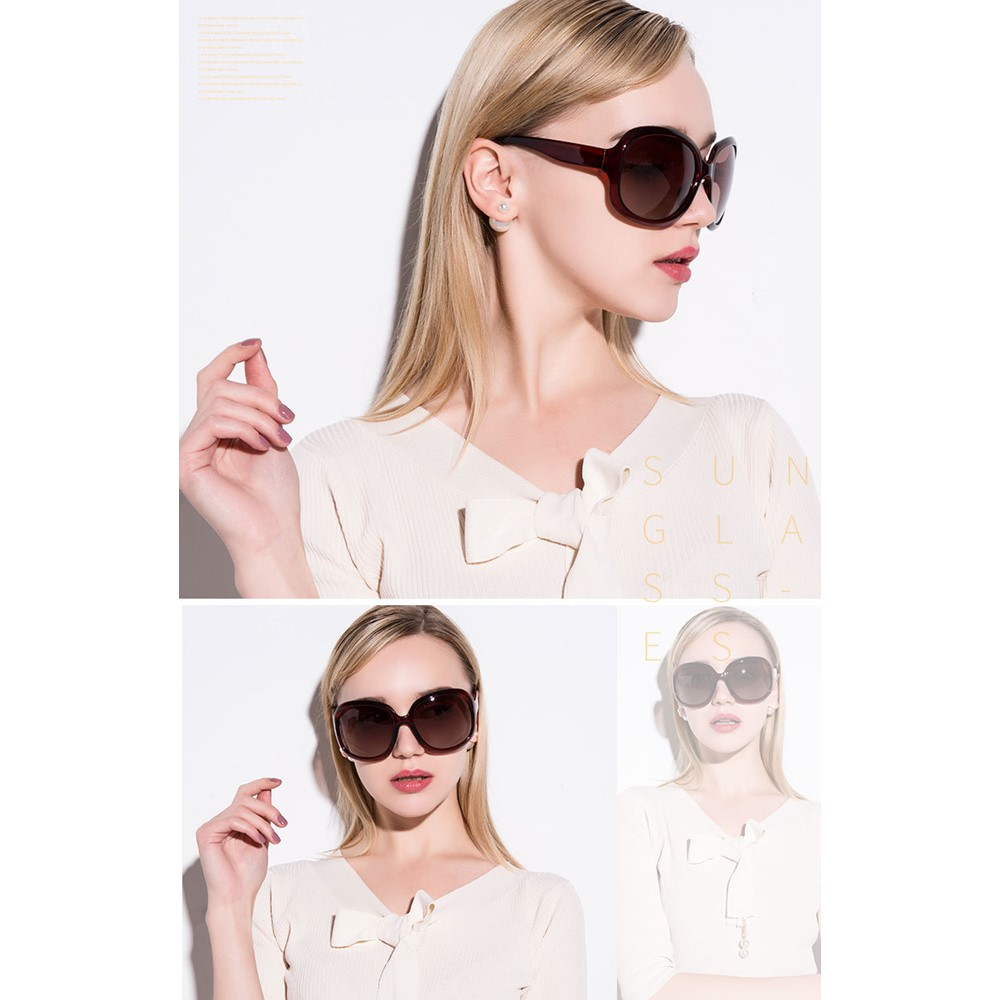 4GL Women Sunglasses Polarized UV400 Women Fashion Spectacles Eyewear