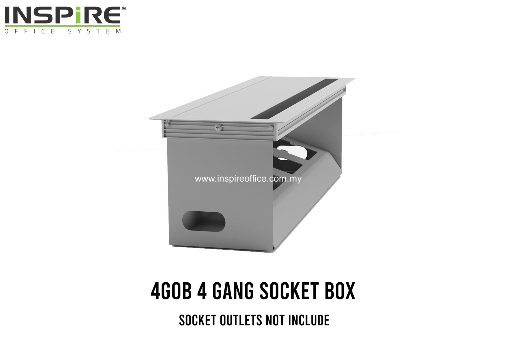 4GOB 4 GANG SOCKET BOX
