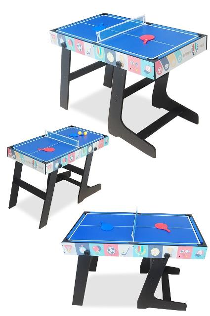 4IN1 Games Table Tennis Foosball Hockey Billiard Multi Sport Combo Air