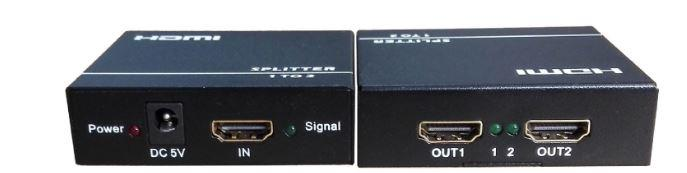 4K HDMI SPLITTER 1 IN TO 2 OUTPUT 4K*2K V1.4 (TV34)