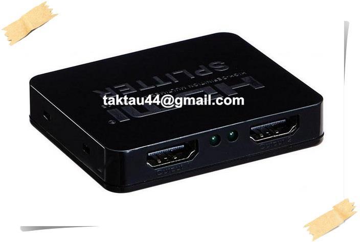 4K x 2K HDMI Splitter 1 In 2 Out Distributor Amplifier (USB Powered)